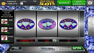 Screenshot Old Vegas Slots on iPhone
