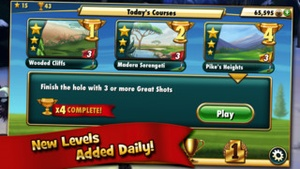 Screenshot Fairway Solitaire by Big Fish on iPhone