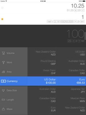 Screenshot Calcbot on iPad