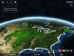 Screenshot Clear Day® on iPad