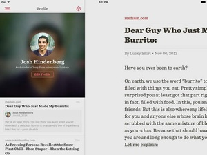 Screenshot Readability™ on iPad