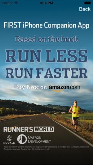 Screenshot Run Less Run Faster on iPhone