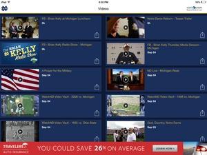 Screenshot WatchND on iPad
