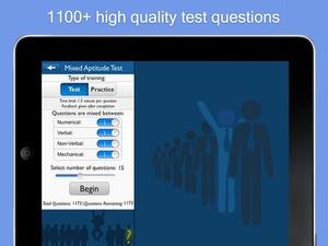Screenshot Aptitude Test Trainer on iPad