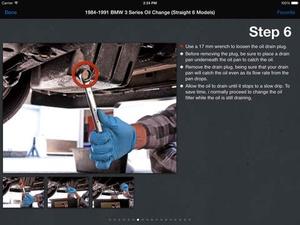 Screenshot iFixit: Repair Manual on iPad