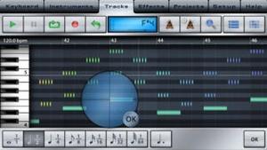 Screenshot Music Studio on iPhone