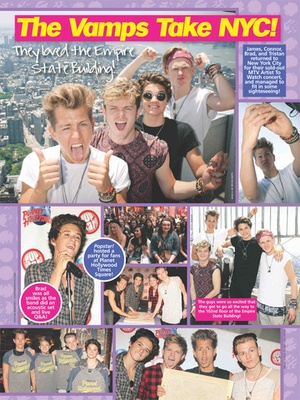 Screenshot Popstar! Magazine on iPad