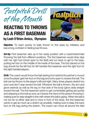 Screenshot Fastpitch Softball Magazine on iPad
