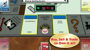 Screenshot MONOPOLY Game on iPhone