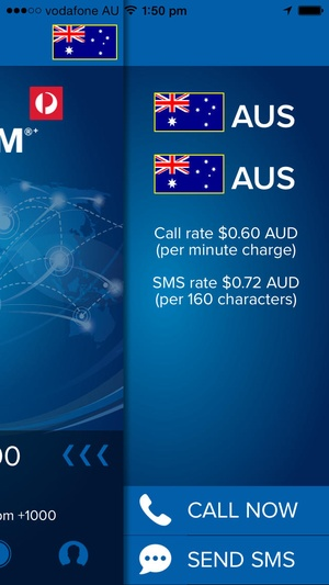 Screenshot Australia Post Prepaid TravelSIM®+ on iPhone