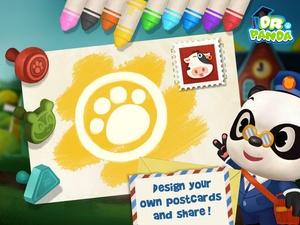 Screenshot Dr. Panda's Mailman on iPad
