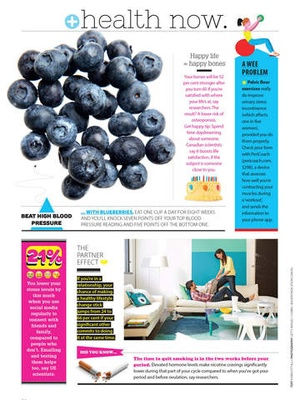 Screenshot Good Health Magazine on iPad