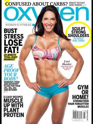 Screenshot Oxygen Mag on iPad
