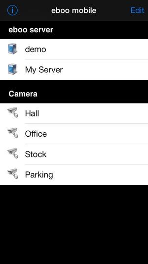 Screenshot eboo mobile on iPhone