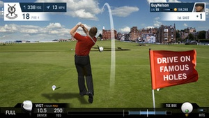 Screenshot Golf Mobile on iPhone