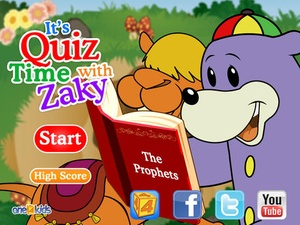 Screenshot Quiztime with Zaky 1 on iPad