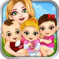 Mommy's Newborn Triplet Babies