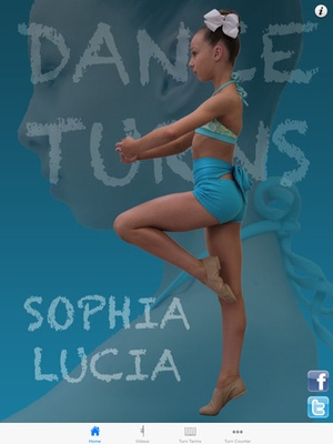 Screenshot Basic Dance Turns with Sophia Lucia on iPad