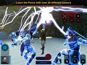 Screenshot Star Wars®: Knights of the Old Republic™ on iPad