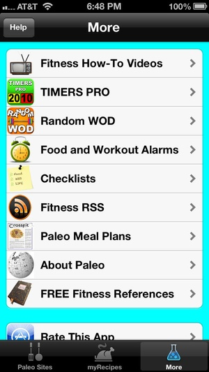 Screenshot Paleo Hero on iPhone
