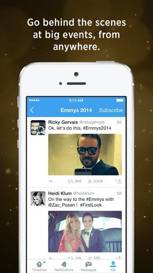 Screenshot Twitter on iPhone
