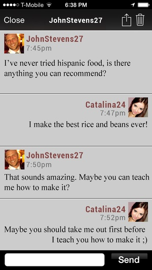 Screenshot Caliente on iPhone