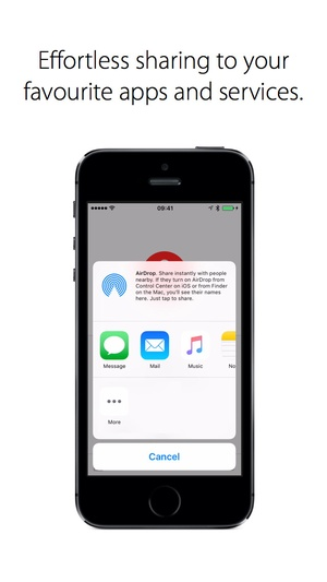 Screenshot Just Press Record: Voice and Audio Recorder with Automatic Sync on iPhone