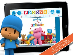 Screenshot Pocoyo TV on iPad