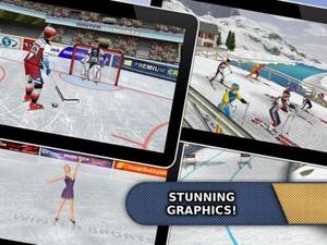 Screenshot Athletics: Winter Sports (Full Version) on iPad