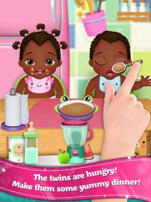 Screenshot My new baby 2 - Twins! on iPad