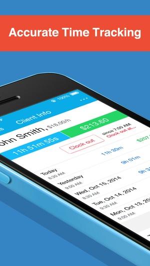 Screenshot Hours Keeper on iPhone