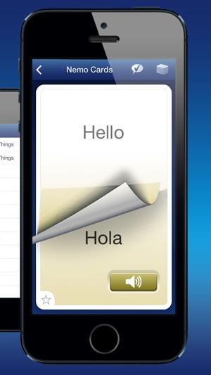 Screenshot Nemo Spanish on iPhone