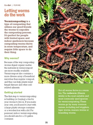 Screenshot The Dirt on Organic Gardening Magazine on iPad