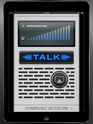 Screenshot Intercom Pro on iPad