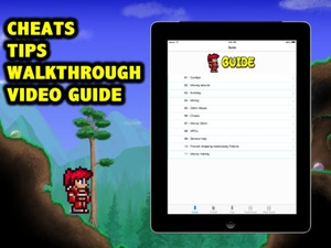 Screenshot Complete Cheats and Video Guide for Terraria on iPad