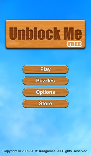 Screenshot Unblock Me FREE on iPhone