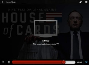 Screenshot Netflix on iPad