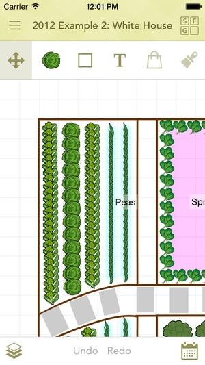 Screenshot Old Farmer's Almanac Garden Planner on iPhone