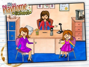 Screenshot My PlayHome School on iPad