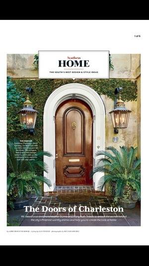 Screenshot SOUTHERN LIVING Magazine on iPhone