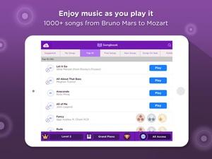 Screenshot Magic Piano by Smule on iPad