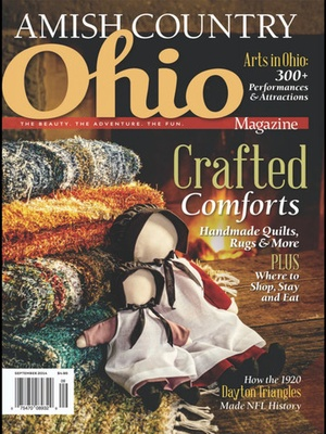 Screenshot Ohio Magazine on iPad