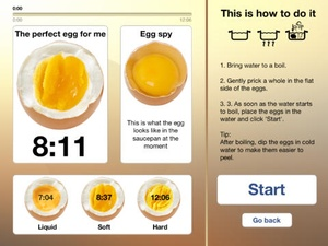Screenshot The perfect Egg timer on iPad