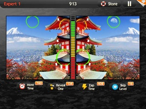 Screenshot What's the Difference? on iPad