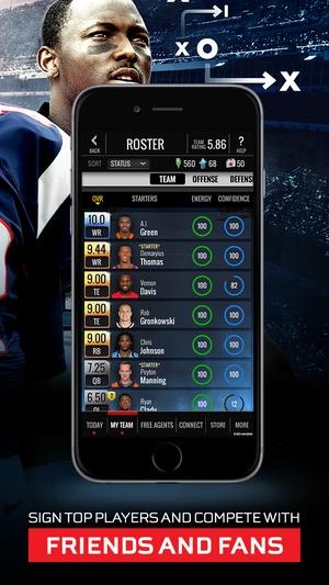 Screenshot NFL Showdown: Football Manager on iPhone