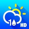 10 Day Weather: Extended detailed hourly forecast with animated live background
