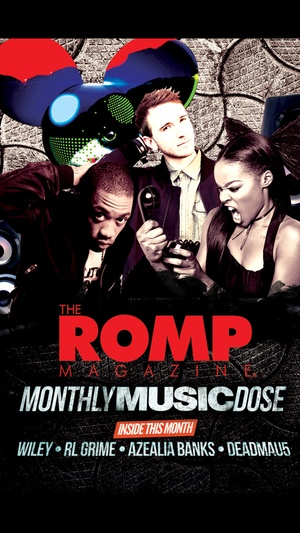 Screenshot The Romp Magazine on iPhone