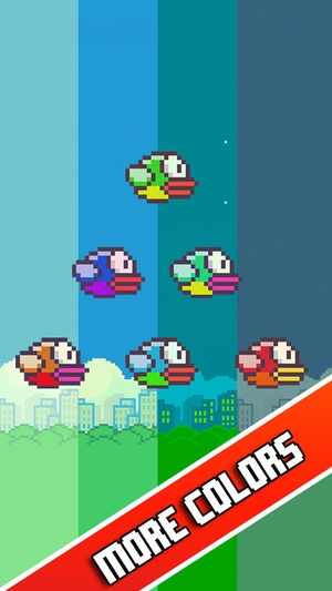 Screenshot Impossible Flappy on iPhone