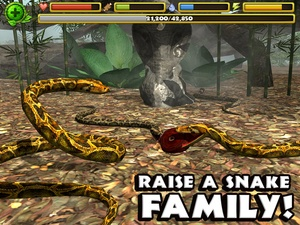 Screenshot Snake Simulator on iPad