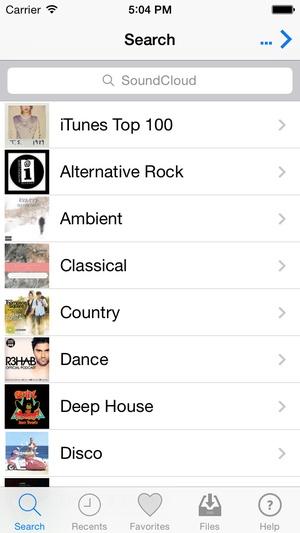 Screenshot UnlimMusic Free Music Download on iPhone